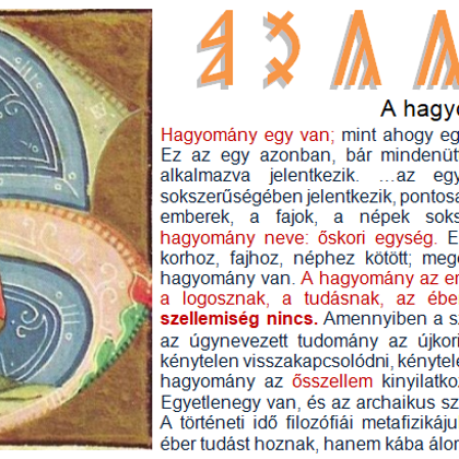 HAGyOMÁNyOK
