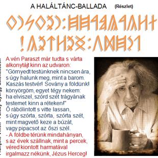 A HALÁLTÁNC-BALLADA